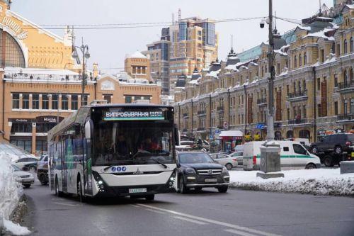 Киев закупит 20 электробусов в рамках программы по Киотскому протоколу