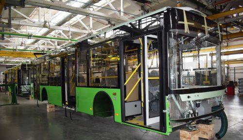 В Харьков отправлены еще 11 новых троллейбусов Богдан Т70117 - Богдан