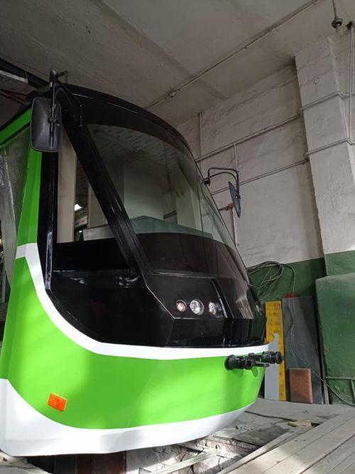 В Николаеве приступили к производству собственного трамвая - трамва