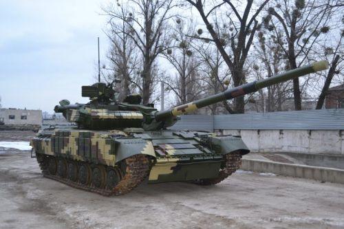 С начала года Харьковский бронетанковый завод передал в ВСУ 9 танков Т-64БВ - танк