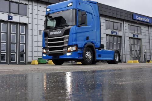Scania фиксирует рост спроса на комплектации с повышенным комфортом в Украине