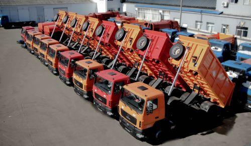 Дорожно-строительные компании начали закупать 20-тонные самосвалы МАЗ