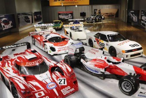 Toyota запустила виртуальный тур по выставке гоночных автомобилей