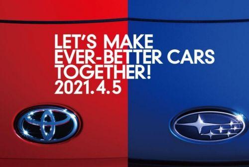 Toyota и Subaru готовят к дебюту новый совместный автомобиль