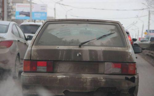 В Украине выросли штрафы за грязные номера