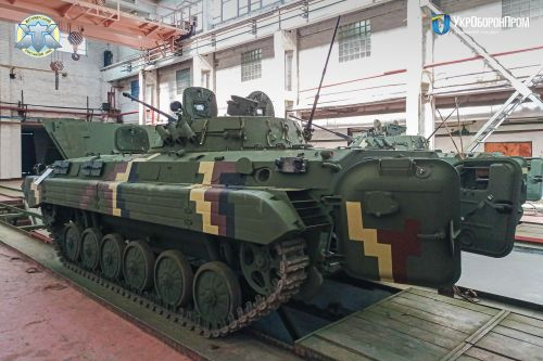 Житомирский бронетанковый завод отремонтировал очередную партию БМП-2