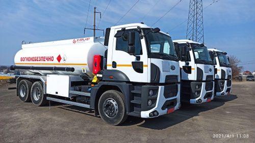 "Ford Trucks поставил 10-кубовые топливозаправщики компании ""Автомагистраль-Юг"" - Ford Trucks"