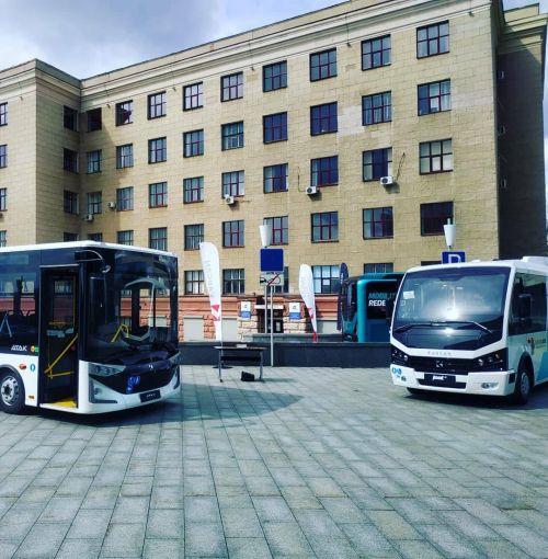 В Харькове презентовали турецкие автобусы Karsan