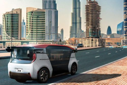 Эмираты закупят тысячи беспилотных такси