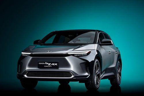 Toyota представила концепт электрического кроссовера bZ4X