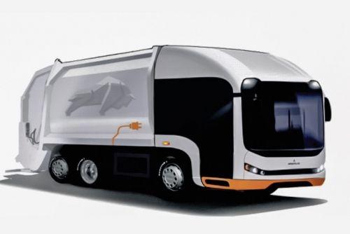 МАЗ готовит электрический мусоровоз новой концепции