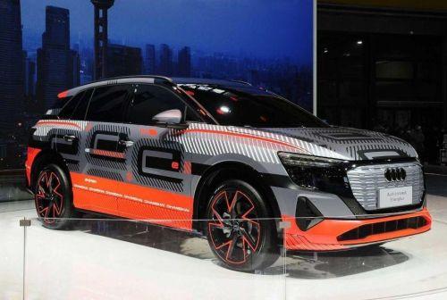 Audi готовит крупный электрический кроссовер