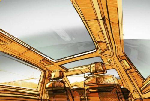 Volkswagen Transporter T7 получит новую компоновку салона