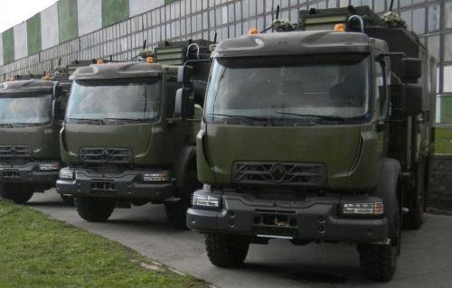 ВСУ начали получать спецтехнику на базе Renault Trucks