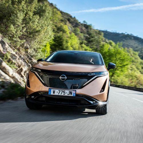 Nissan сообщил стоимость электро кроссовера Ariya - Ariya