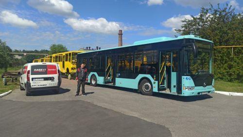 """Черниговский автозавод завершил испытания 12-метрового городского автобуса """"Астра"""" с двигателем Евро-6"""