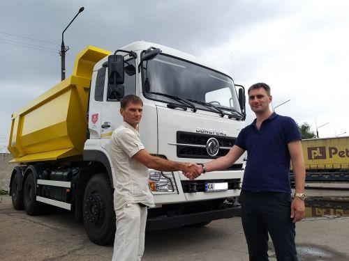 Dongfeng Trucks наращивает поставки самосвалов на украинском рынке