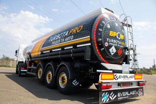 Украинский производитель Everlast представил сверхлегкий полуприцеп-бензовоз - автоцистерн