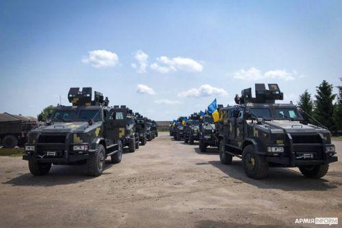 Морская пехота получила партию бронеавтомобилей Козак-2