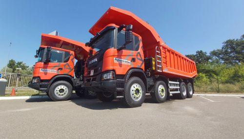 Украинские карьеры продолжают закупать самосвалы Scania - Scania