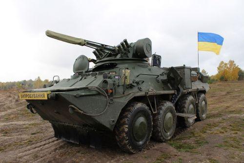 БТР-3ДА примут участие в параде к 30-летию независимости Украины