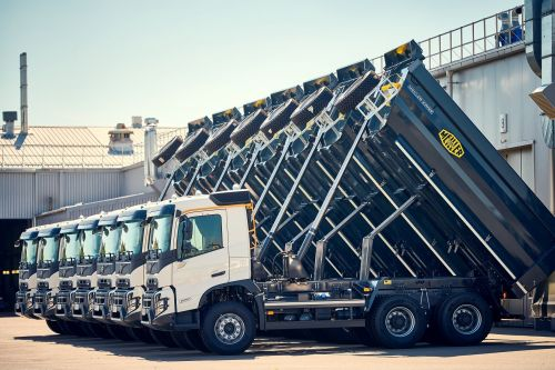 Самосвалы нового поколения Volvo FMX будут строить гипермаркеты Эпицентр - Volvo