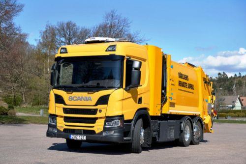 Scania запустила в опытную эксплуатацию водородный грузовик - Scania