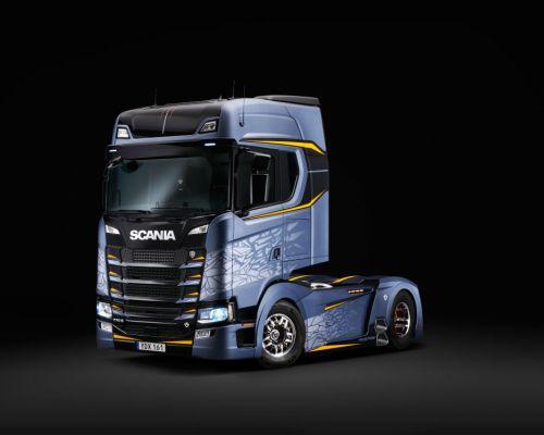 Scania показала последнюю работу короля тюнинга Свемпы