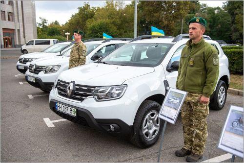 Одесские пограничники будут ездить на мотоциклах Honda - Honda