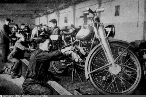 Сколько в мире до сих пор осталось первых киевских мотоциклов