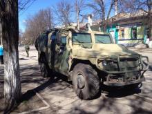 """Откуда в Крыму появились бронеавтомобили ГАЗ-2330 «Тигр»? - """"Тигр"""""""