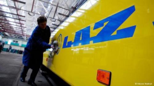 Долги Львовского автобусного завода ЛАЗ выставили на продажу - ЛАЗ