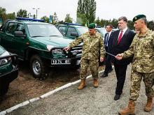 Украинские пограничники получили новую технику. Фото - броне