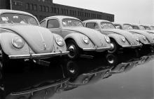 Как делали Volkswagen в 1951 году. Редкие фото - Volkswagen