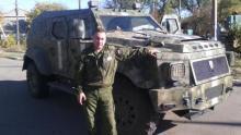 Бронированный внедорожник Януковича захватили боевики ДНР. Фото - Knight XV