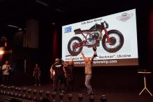 Украинский мотоцикл занял 1-е место на  Чемпионате Мира по Кастомайзингу - мототехник