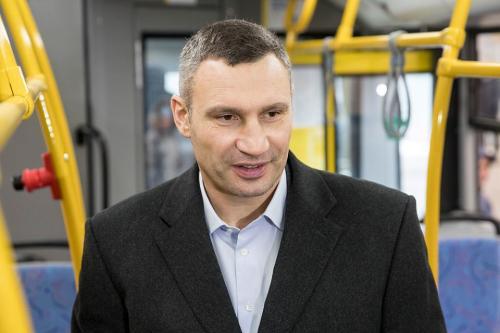 Мэр Киева прокомментировал возможный запрет передвижения по городу на личных автомобилях