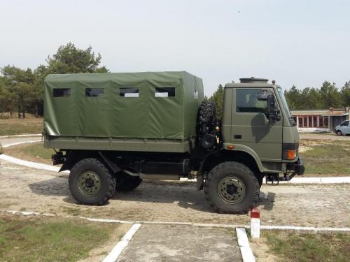 Замена ГАЗ-66 для украинской армии уже проходит испытания. Фото - ГАЗ-66