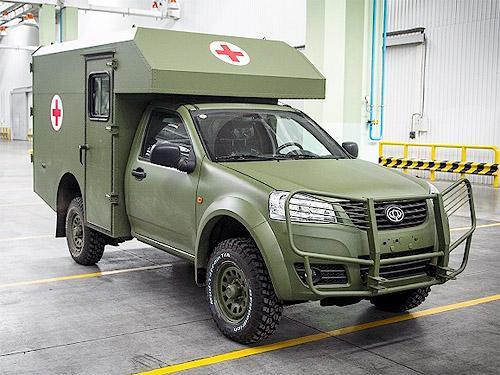 Медицинские Богдан 2251 станут основными автомобилями для эвакуации по стандартам НАТО