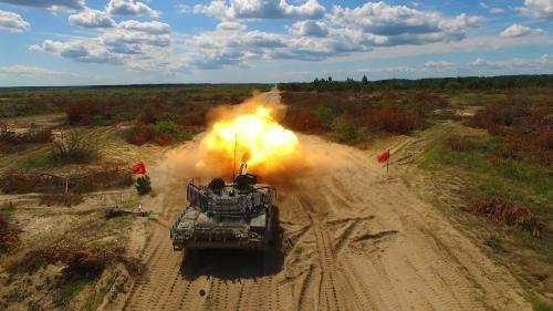 В Киеве создали танк, с учетом опыта боев на Донбассе