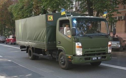 Погранвойска первыми получили новый армейский легкий грузовик - Богдан