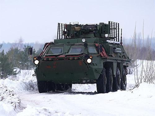 В Украине завершают испытания БТР-4 с новыми корпусами