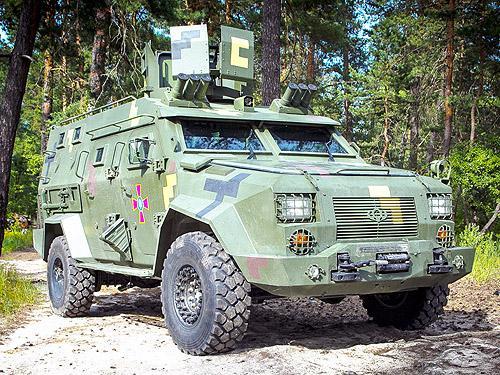 Украинская армия получит на вооружение новые современные броневики