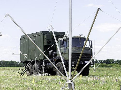 На базе Богдан-6317 изготовили мобильный радиопеленгатор