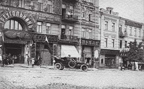 Автоистории: Как в Киеве появились первые автомобили - первые автомобили