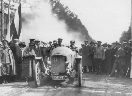 Автоистории: Какую максимальную скорость развивали авто в Киеве в 1913 году