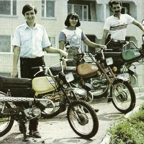 Какую рекламу снимали для Львовского мотозавода во времена СССР. Уникальные фото