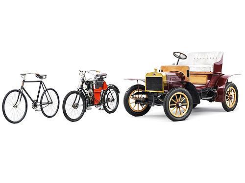 Кто из автопроизводителей выпускал еще и велосипеды? Викторина