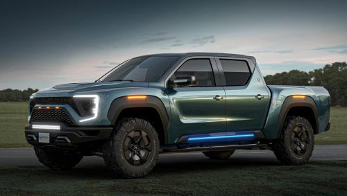 General Motors и компания Nikola будут совместно выпускать электрический пикап - General