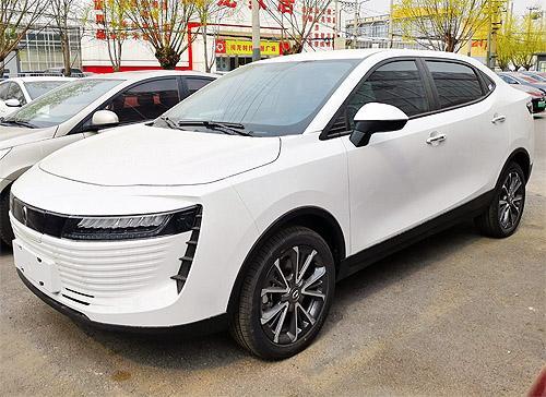 В Украине появился новый китайский электрокар с необычным дизайном - электро